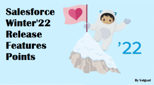 Salesforce Winter 22 Realease Features - Volgsol